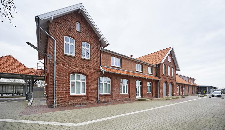 Der Kulturbahnhof in Cloppenburg