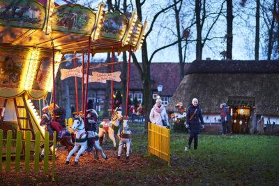 Cloppenburg, Nikolausmarkt im Museumsdorf