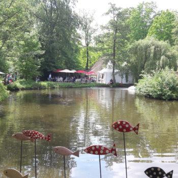 Gartenpartie-Museumsdorf